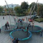 bungee trampoline τετραπλό