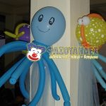 ψάρι χταποδάκι θάλασσα μπαλόνια (4)
