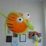 ψάρι χταποδάκι θάλασσα μπαλόνια (5)