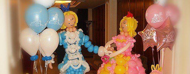 Μπαλόνια με θέμα πριγκίπισσα|νεράιδα|κοπέλα