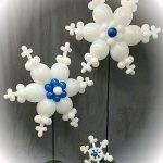 νιφάδες από μπαλόνια