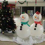 χιονάνθρωπος από μπαλόνια (1)