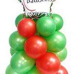 χριστουγεννιάτικο δέντρο από μπαλόνια