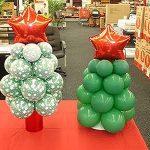 Christmas balloon center piece